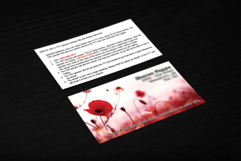 Business card portfolio copykats copy print centre picture colourmoves